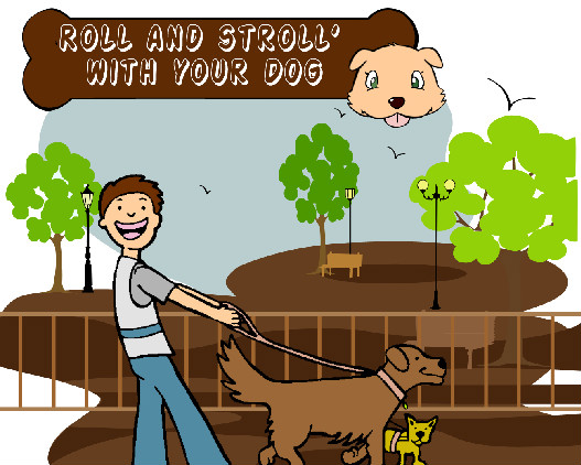 Roll & Stroll With Your Dog [Infographic]