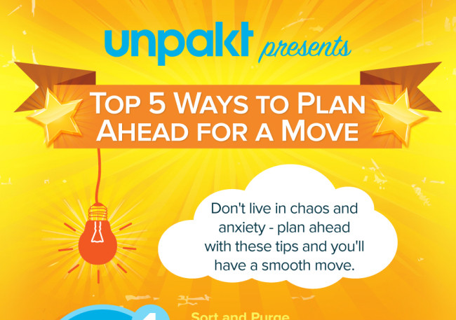 Top 5 Ways to Plan Ahead for a Move