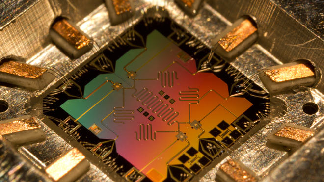 Quantum Computing Device CPU