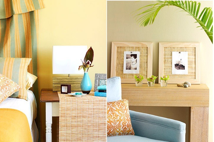 Summer interior decor