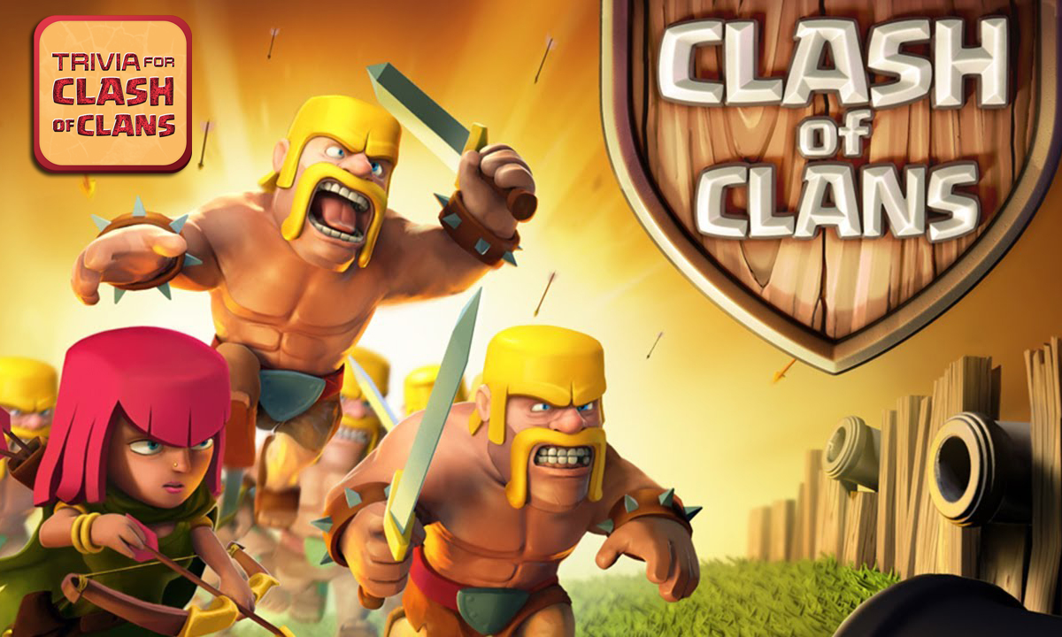 Trivia & Quiz: Clash of Clans – Attack Goblin Villages to earn the dark Elixir!