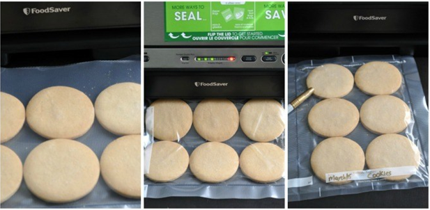 Better Cookie Dough Preservation with a Vacuum Sealer