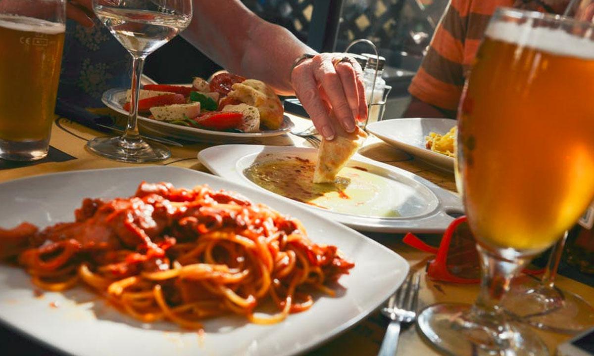 Spaghetti & Turkey Sausage