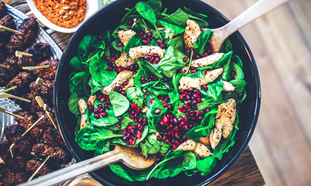 Spinach Salad – Easy recipe